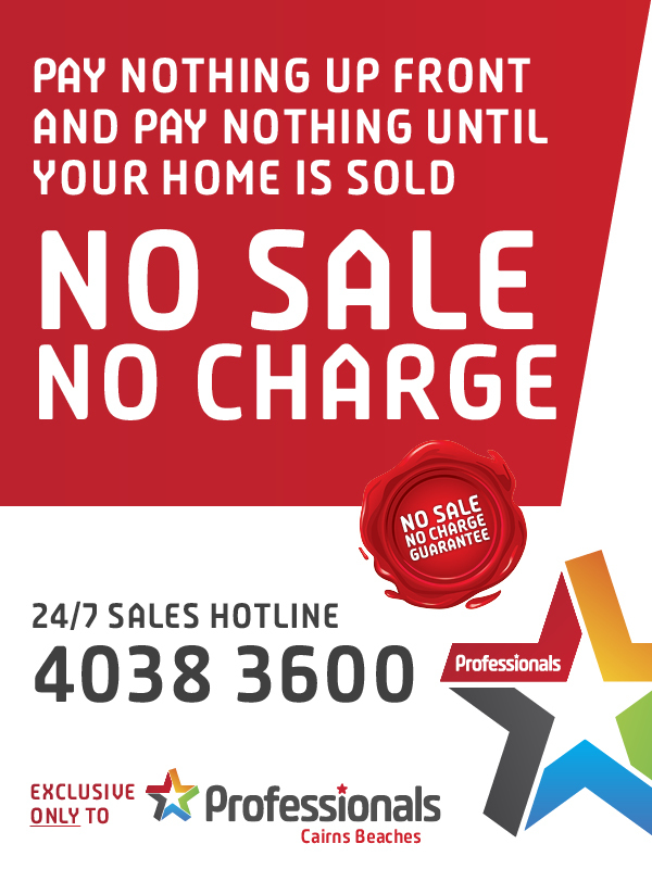 Professionals Cairns Beaches Sales Hotline 24/7 - 07 4038 3600
